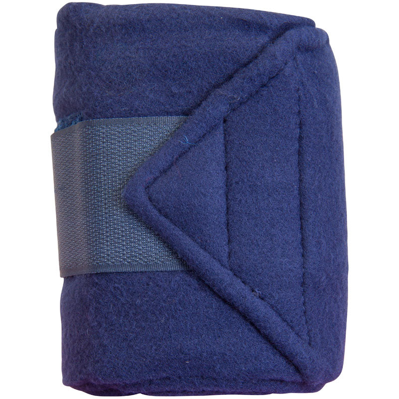 Imperial Riding Bandages Fleece With Velcro Blue