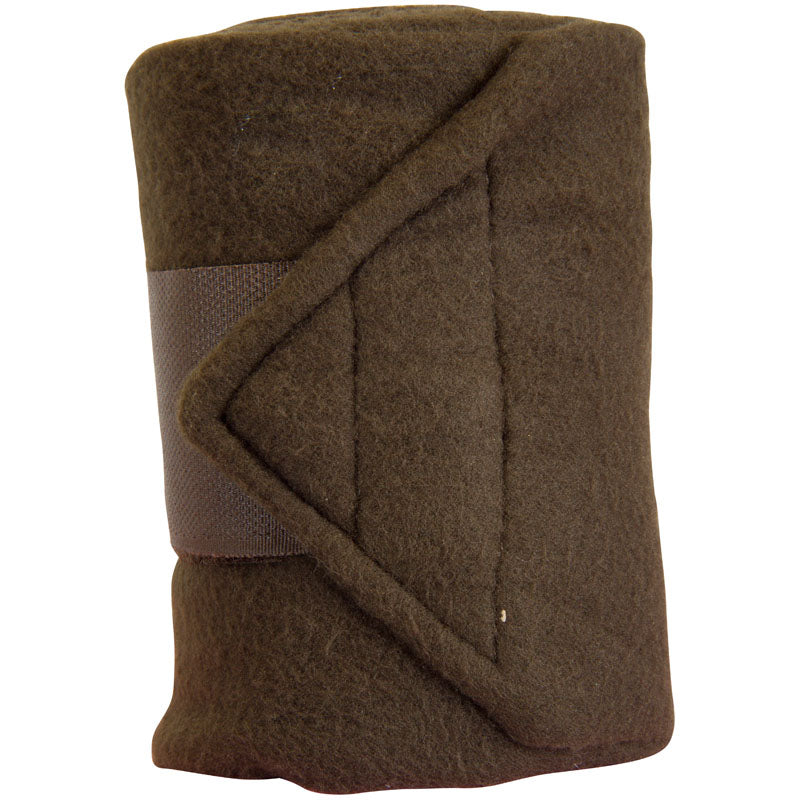 Imperial Riding Bandages Fleece With Velcro Taupe