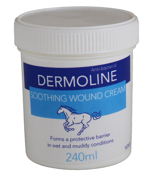 Dermoline Soothing Wound Cream - 240ml