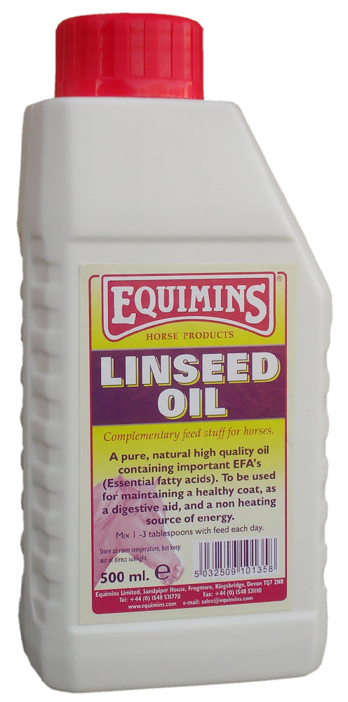 Equimins Linseed Oil - 500ml