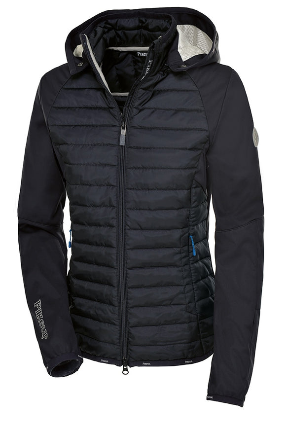 Pikeur Angeline Padded Softshell Jacket - Navy Blue