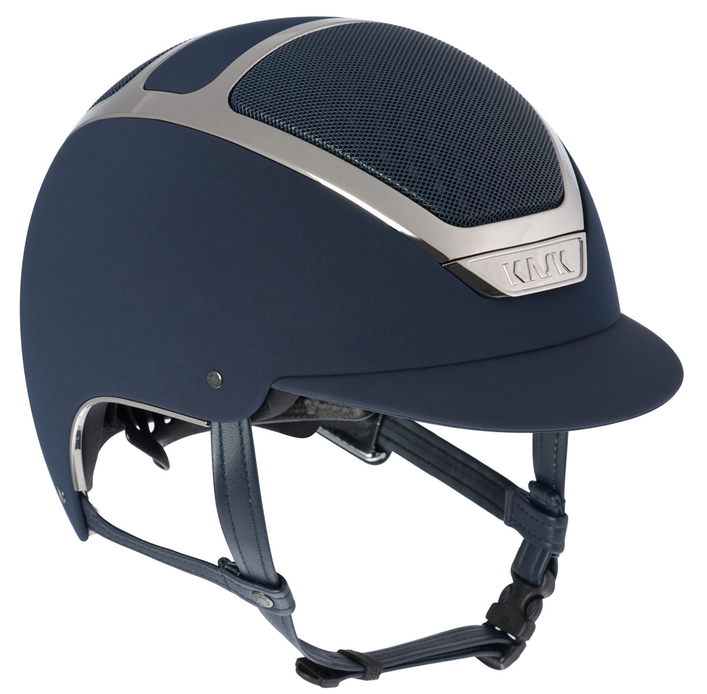 KASK Dogma Chrome Light Helmet - Navy/Silver