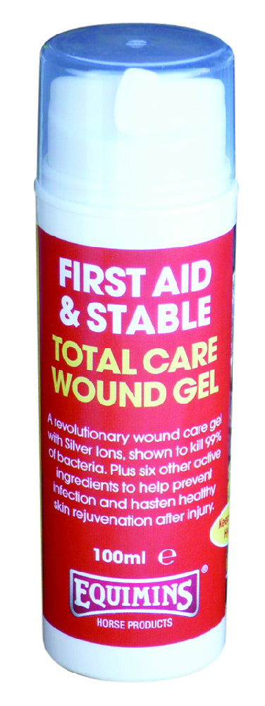 Equimins Total Care Wound Gel - 100ml Dispenser