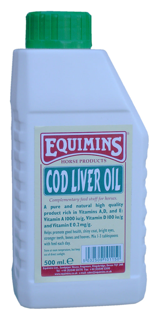 Equimins Cod Liver Oil - 500ml