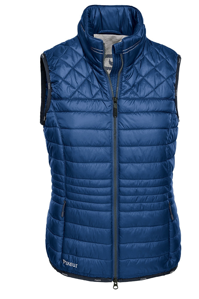 Pikeur SS18 Colette Padded Gilet - Dark Sapphire