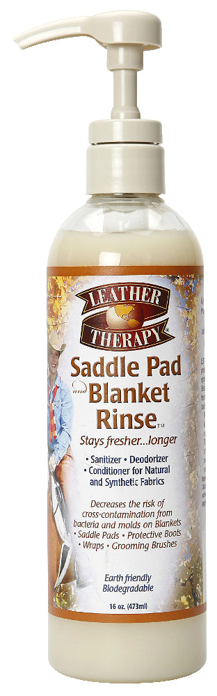 Absorbine Leather Therapy Saddle Pad & Blanket Rinse - 473ml