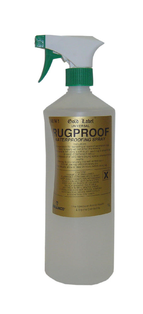 Gold Label Universal Rugproof Spray - 1L