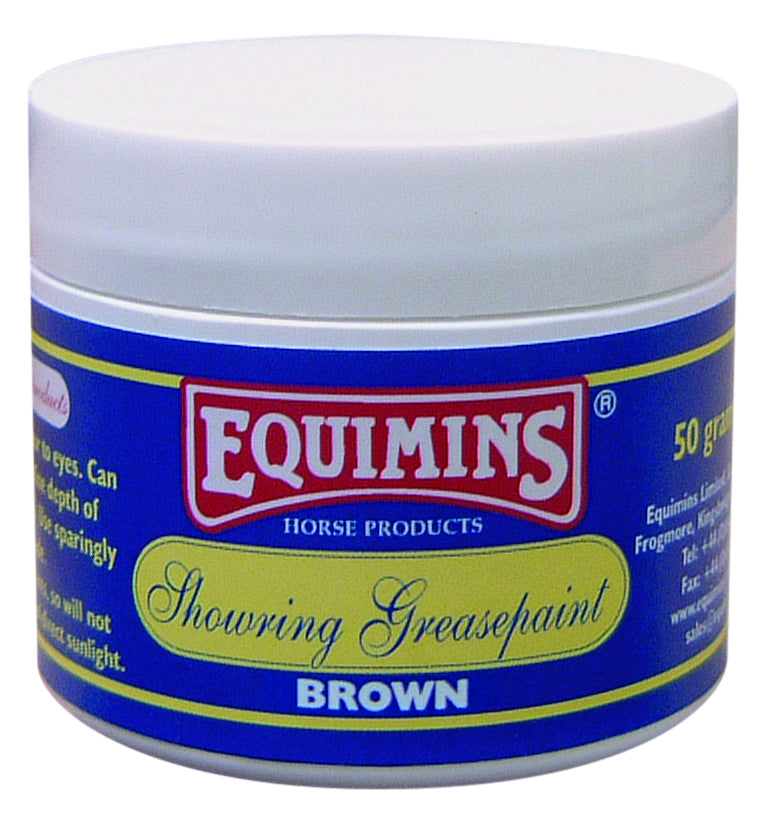 Equimins Showring Greasepaint - Brown