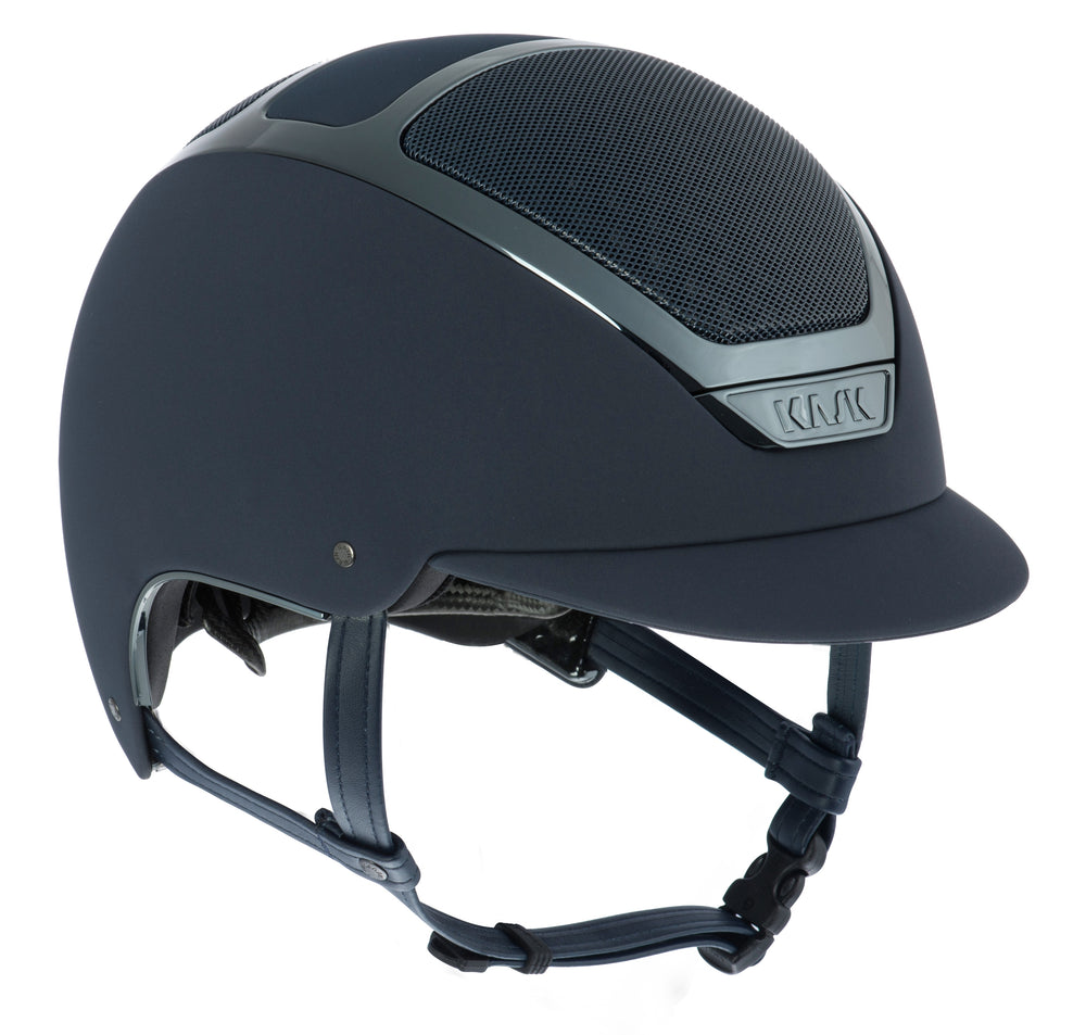 KASK Dogma Chrome Light Helmet - Navy Blue