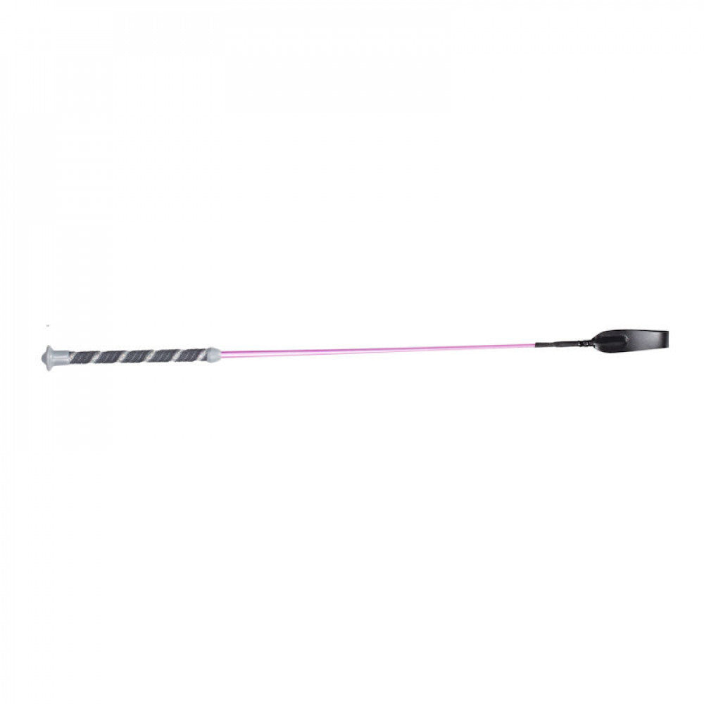 Horze Freddie Metallic All Purpose Whip - Pink