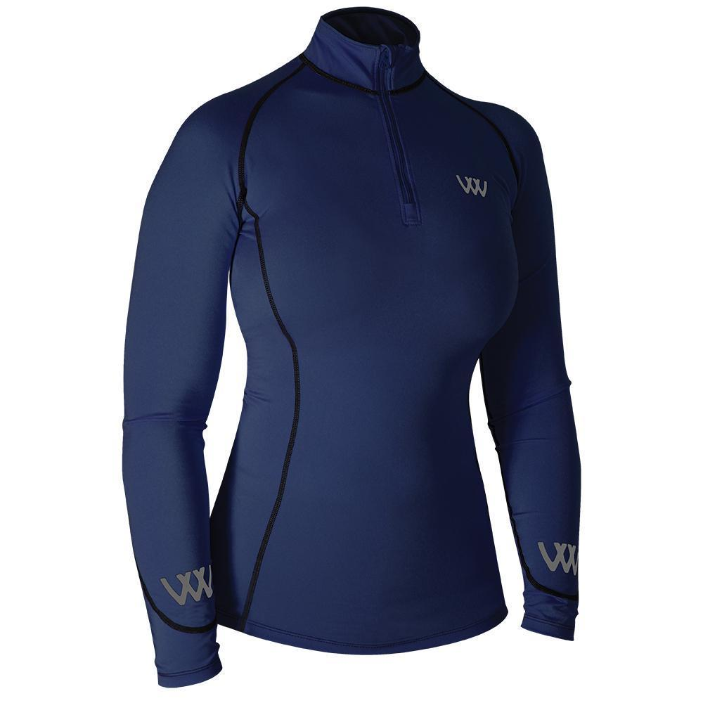 Woof Wear Performance Riding Shirt Navy