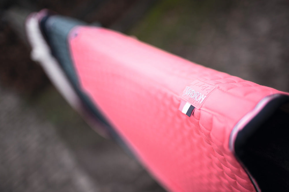 *PRE-ORDER* Eskadron Classic Sports Cotton Pony Saddlecloth - Fusion Coral