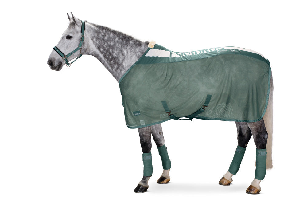 Eskadron Classic Sports Pro Cover Fly Rug - Seapine Green