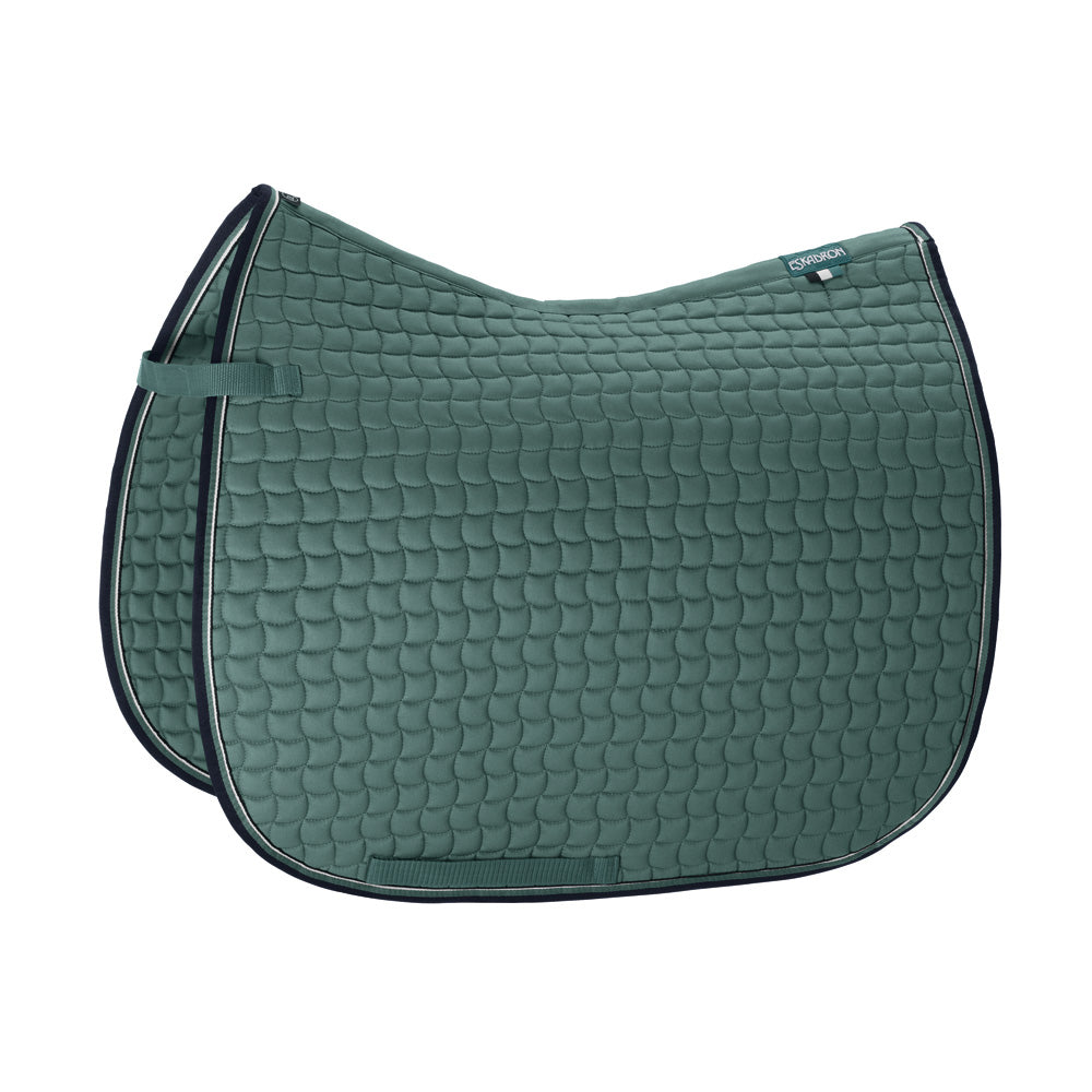 *PRE-ORDER* Eskadron Classic Sports Cotton Pony Saddlecloth - Seapine Green
