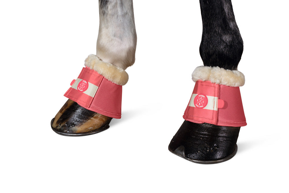 Eskadron Classic Sports Fur Over Reach Boots - Fusion Coral