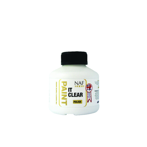 NAF Paint It Clear Hoof Polish - 250ml