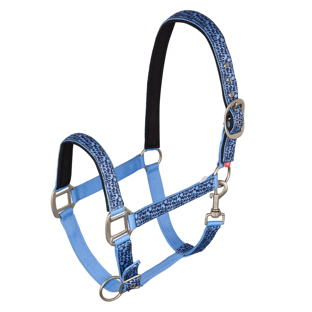 Imperial Riding Headcollar Awake Blue