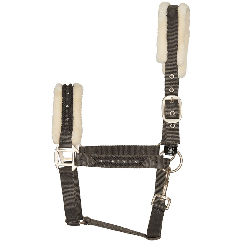 Imperial Riding Sterling Headcollar Grey