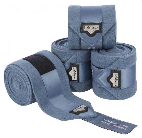 LeMieux Loire Polo Bandages 4 Pack - Ice Blue