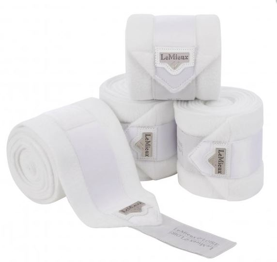 LeMieux Loire Polo Bandages 4 Pack - White