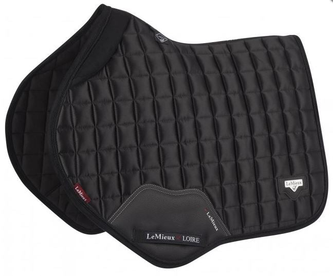 *PRE-ORDER* LeMieux Loire Close Contact Square Saddlepad - Black