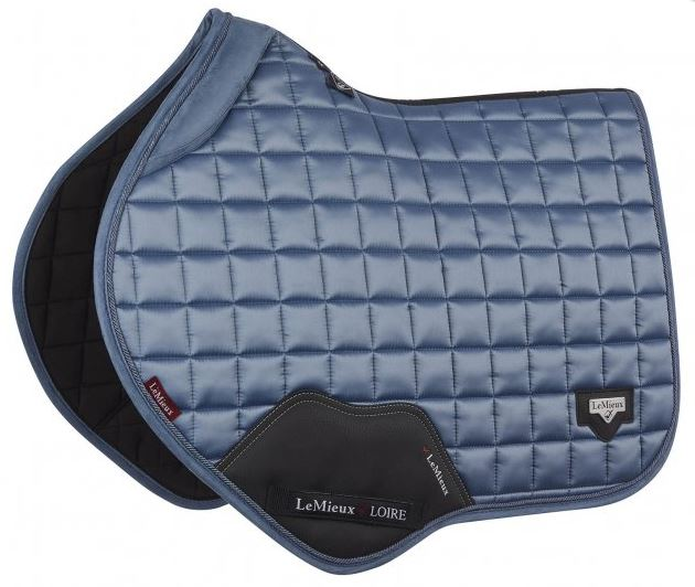 *PRE-ORDER* LeMieux Loire Close Contact Square Saddlepad - Ice Blue