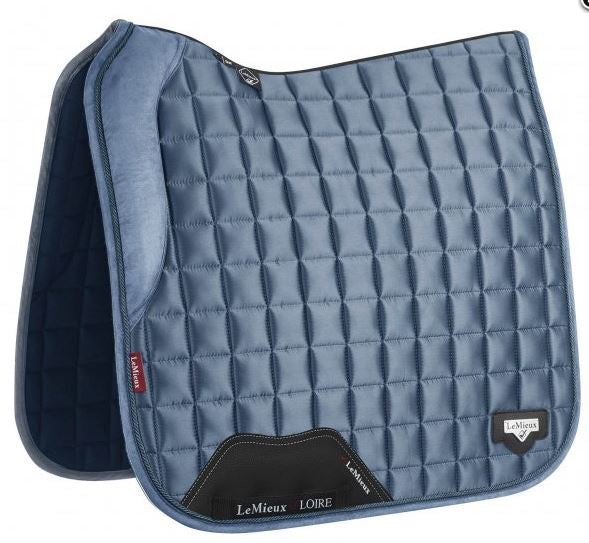 LeMieux Loire Dressage Saddlepad - Ice Blue