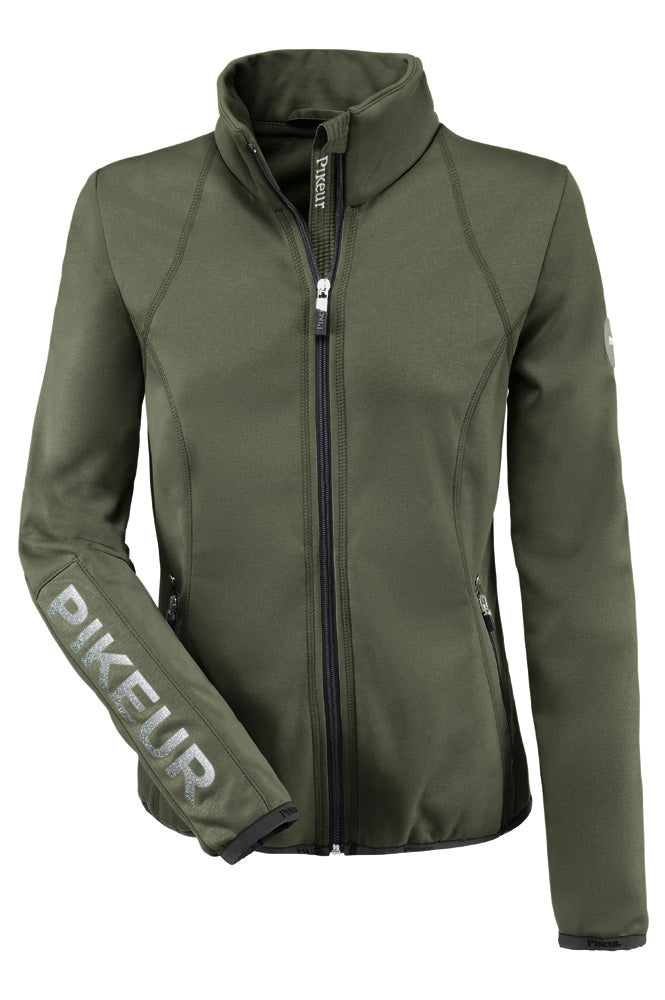 Pikeur Cara Fleece Jacket - Light Olive Melange
