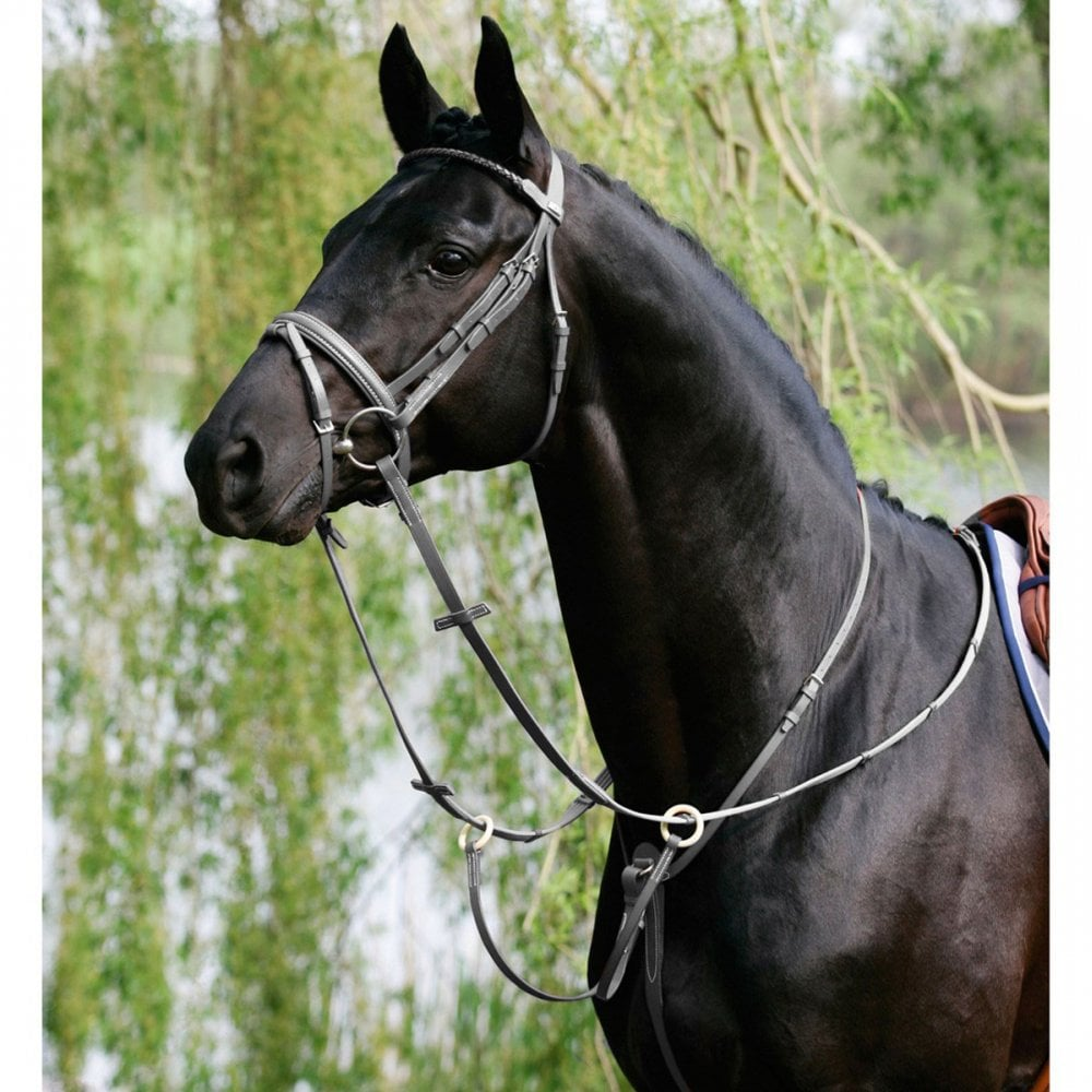 Stubben Leather Running Martingale