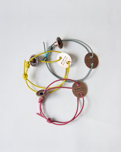 6colors Leather Bangle