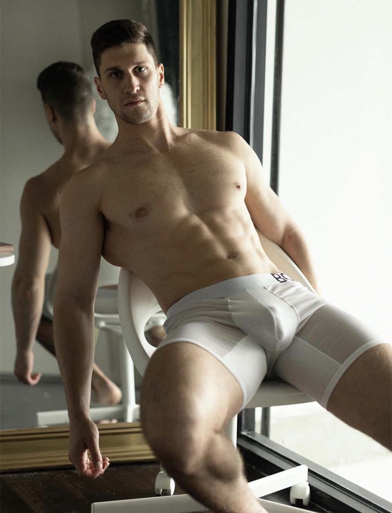 King Fit Mesh Panel - Transparent Crotch