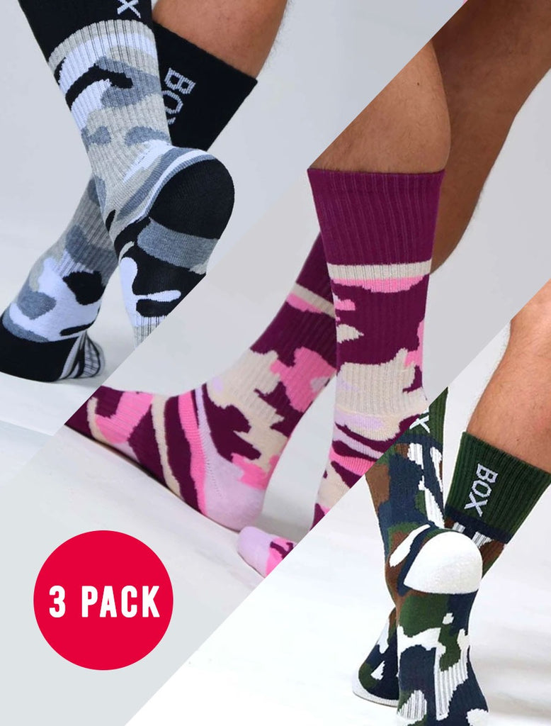 Camo Sock Collection