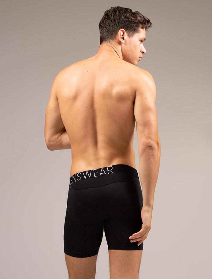 Andrea Moscon Black King Fit Boxers Bum