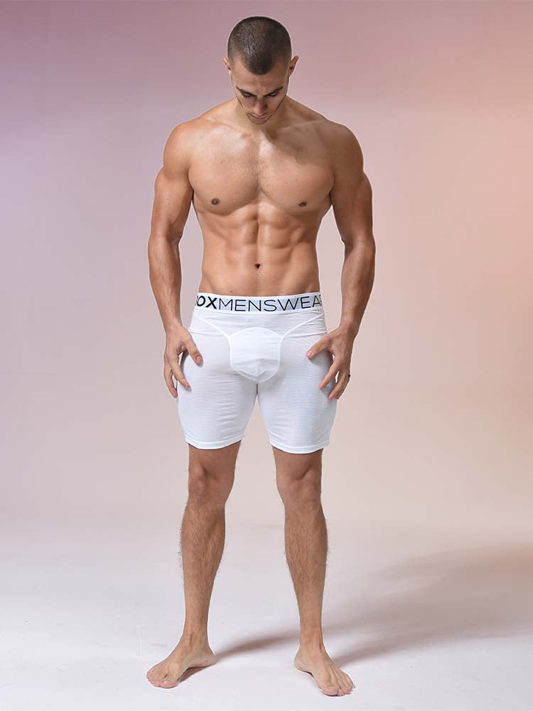 Compression Shorts - White