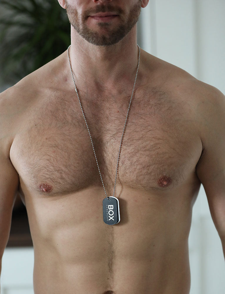 Box Menswear Dog Tag