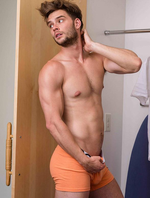 Peach Bulge boxer shorts briefs