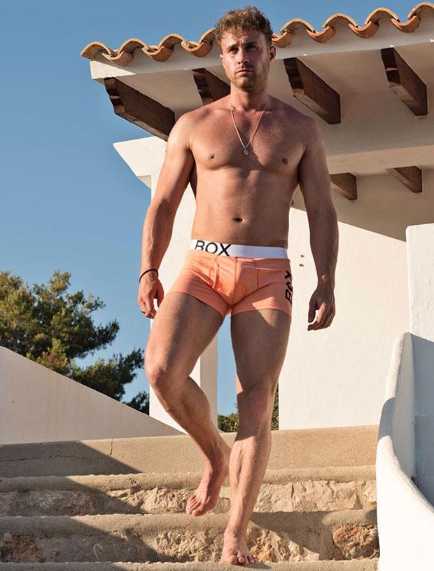 Ross Norton Peach Bulge boxer shorts briefs