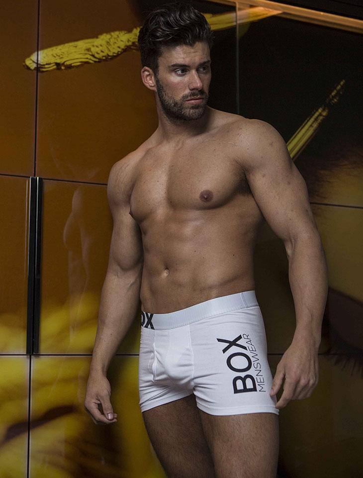 White Bulge boxer shorts briefs
