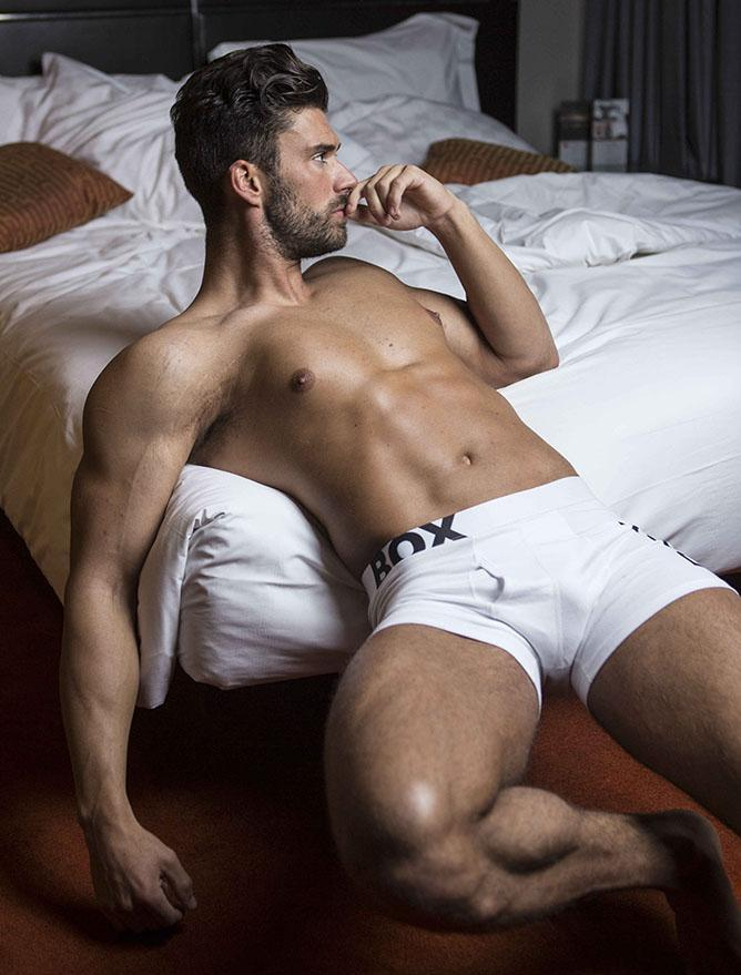 White Boxers Bulge