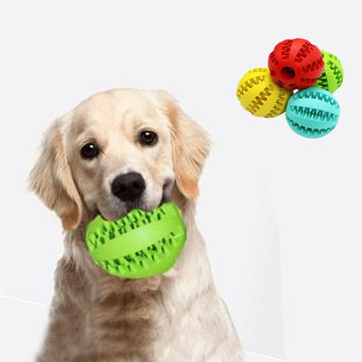 Dog Treat Chewable Toy Ball - Luv I said Pet
