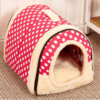 Plush Pet Tent House