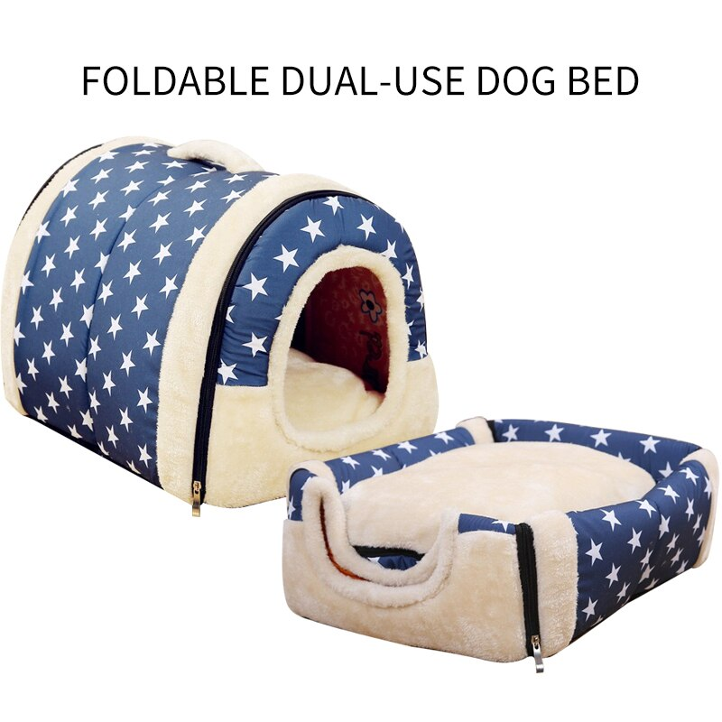 Plush Dog Tent House