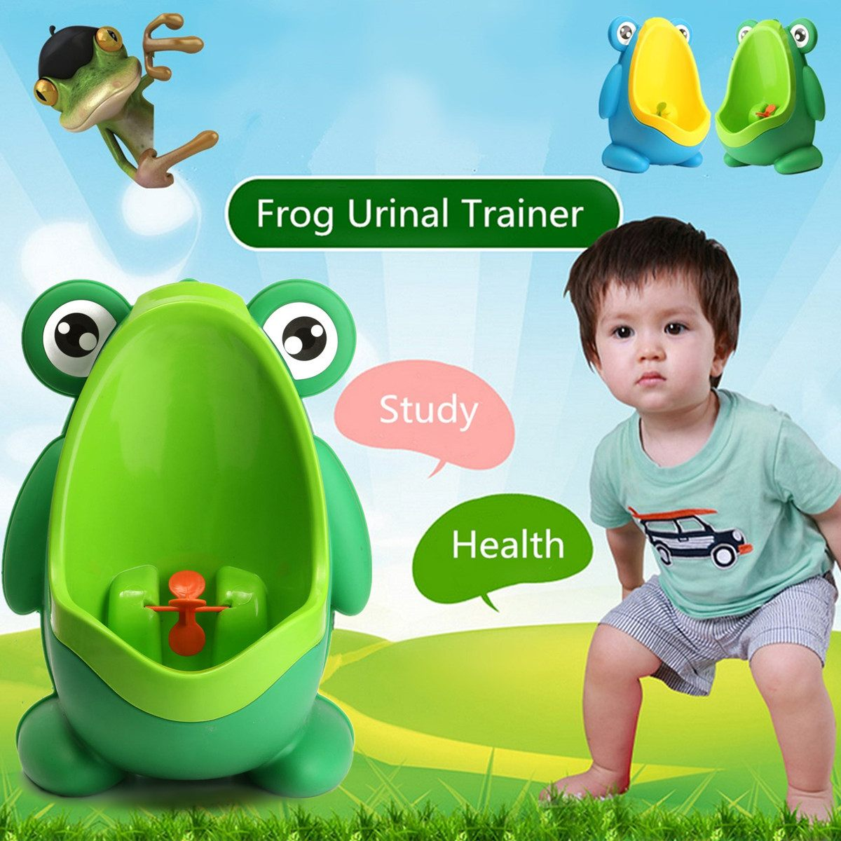 Toddlers Froggy Potty Toilet