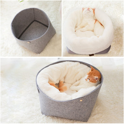 Lush Cocoon Pet Bed