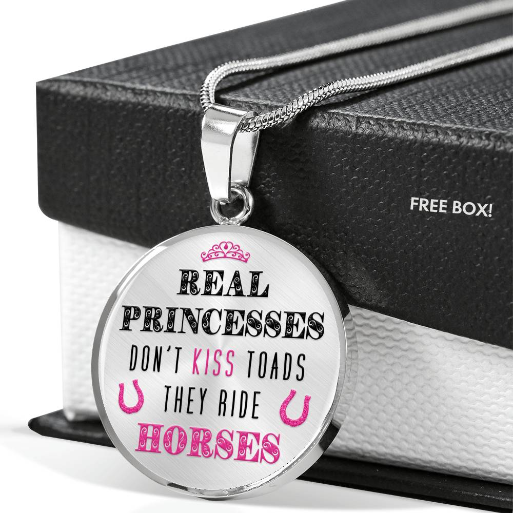 Real Princesses - Pendant Necklace