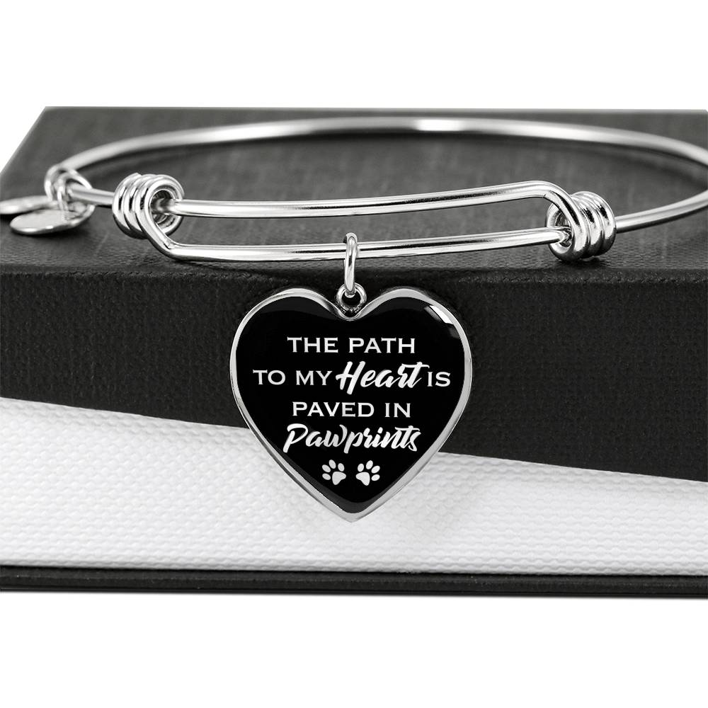 Pawprints to my heart - Luxury Bangle