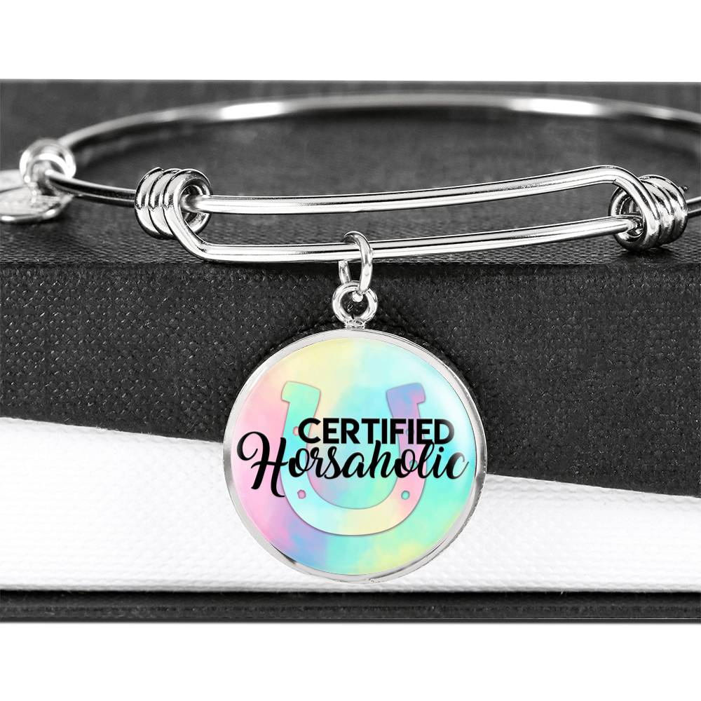 Certified Horsaholic - Luxury Bangle