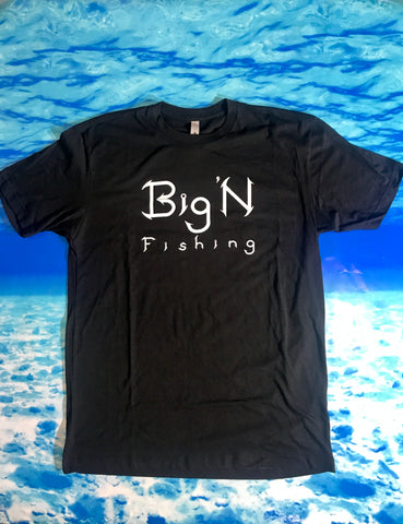 Black Big'N Fishing S/S shirt