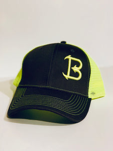 Big'N Fishing PUFF EMBROIDERED LOGO SNAP BACK