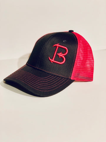 Big'N Fishing PUFF EMBROIDERED LOGO SNAP BACK HAT